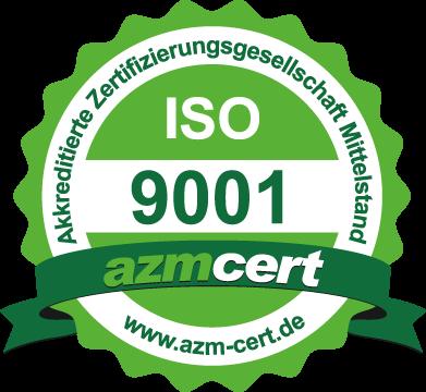 azmcert ISO 9001