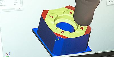 Bild einer 3D Visualisierung in einem CAD Programm